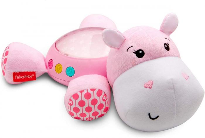 Proiector Hipopotam roz Fisher Price [1]