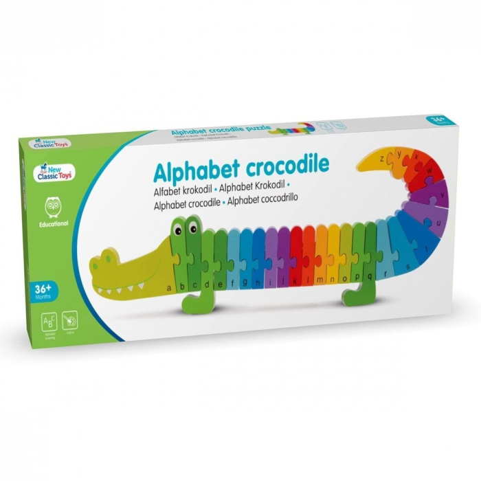 Puzzle Alfabet - Crocodil 5