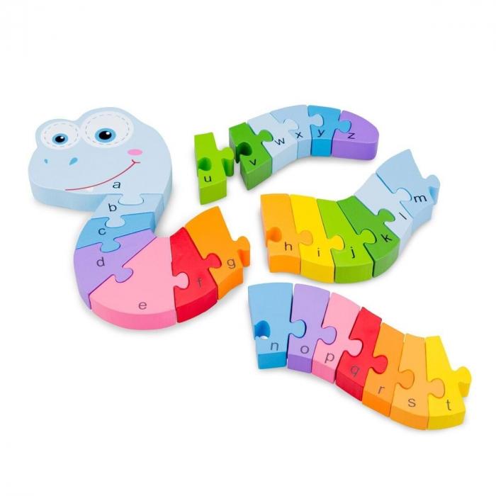 Puzzle Alfabet - Sarpe 2
