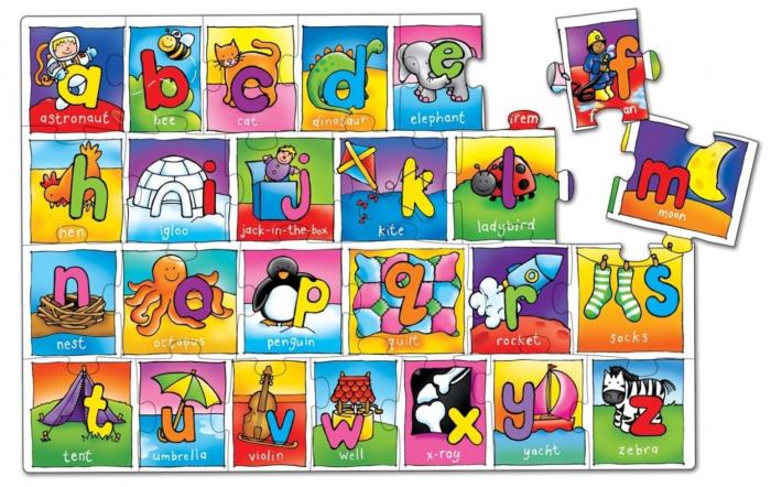 Puzzle Alfabetul / GIANT ALPHABET [1]