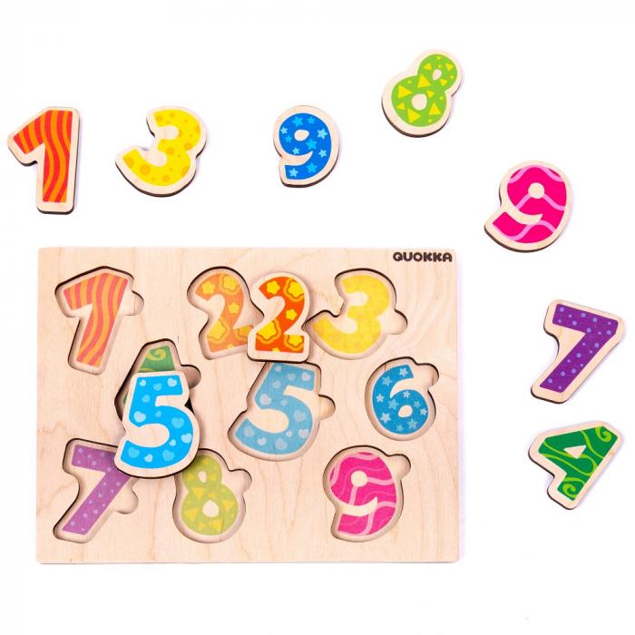Puzzle Cifre - jucarie educativa Quokka [0]