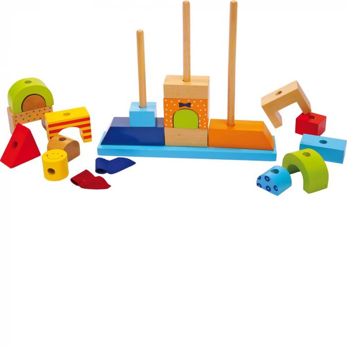 "Puzzle lemn ""Castelul de nisip"" - Legler 1"