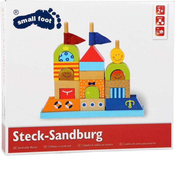 "Puzzle lemn ""Castelul de nisip"" - Legler 2"