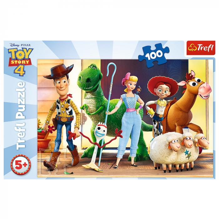 Puzzle Trefl 100 Eroii ToyStory4 [2]