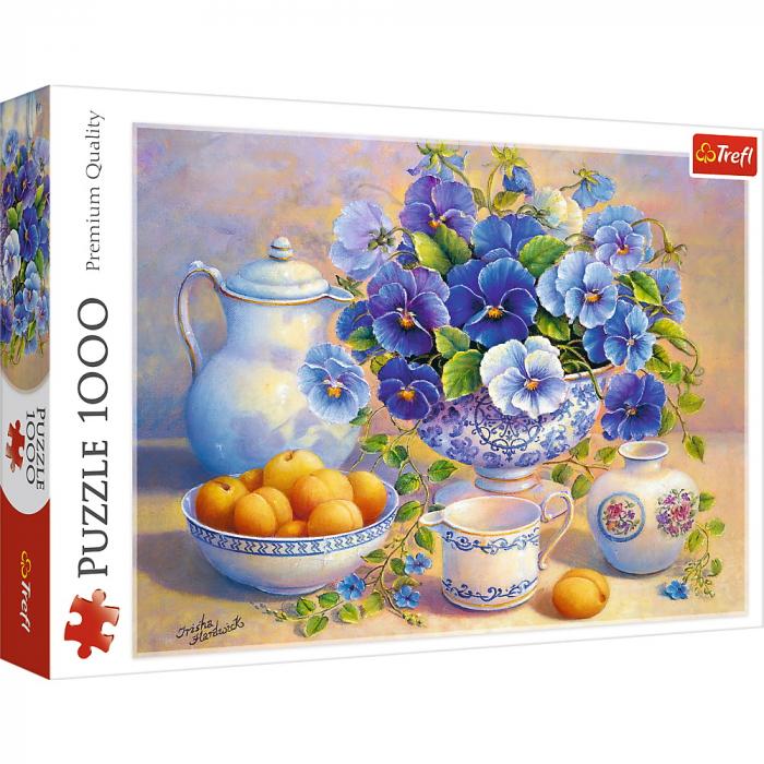 Puzzle Trefl 1000 buchet albastru [0]