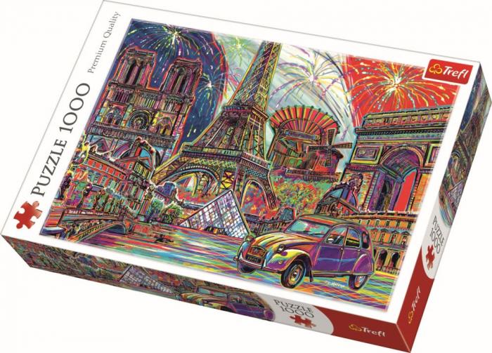 Puzzle Trefl 1000 culorile Parisului [0]