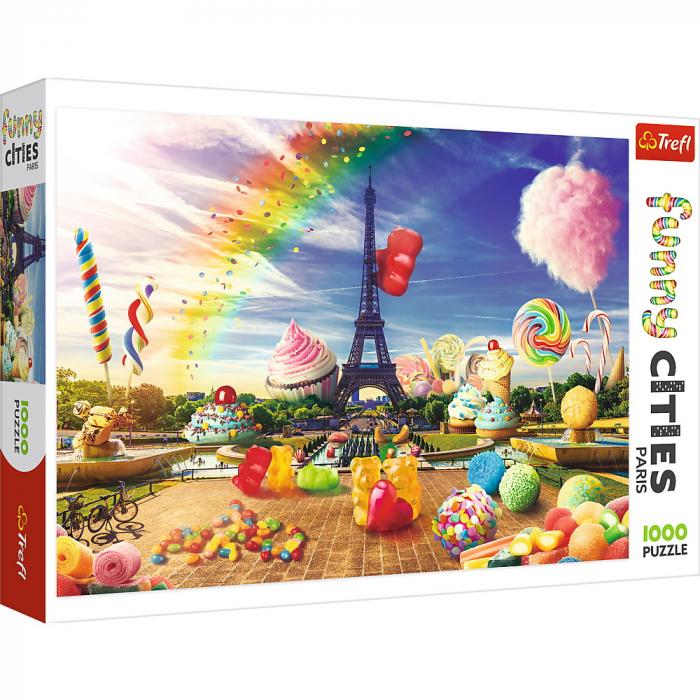 Puzzle Trefl 1000 dulciuri la Paris [0]
