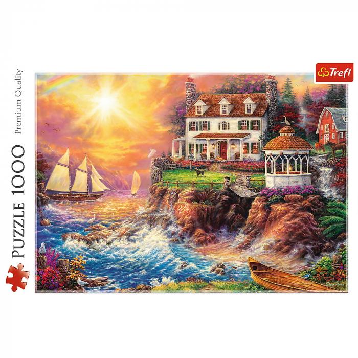 Puzzle Trefl 1000 O priveliste spectaculoasa [2]
