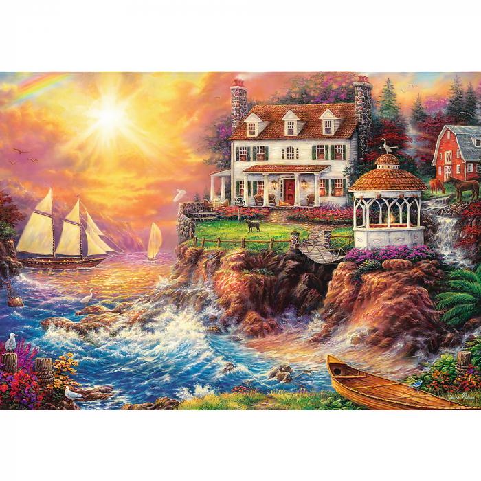 Puzzle Trefl 1000 O priveliste spectaculoasa [1]