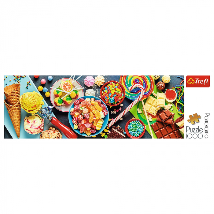 Puzzle Trefl 1000 panorama o incantare dulce [2]