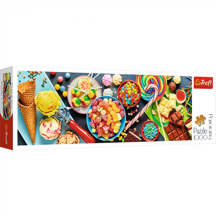 Puzzle Trefl 1000 panorama o incantare dulce [0]