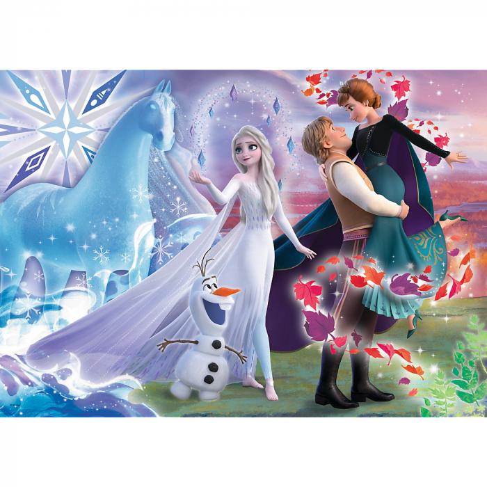 Puzzle Trefl 200 Frozen2 universul magic [1]