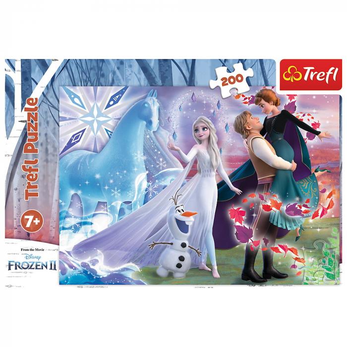 Puzzle Trefl 200 Frozen2 universul magic [2]