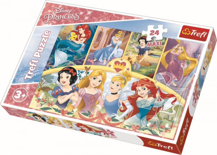 Puzzle Trefl 24 Maxi Amintiri magice [0]