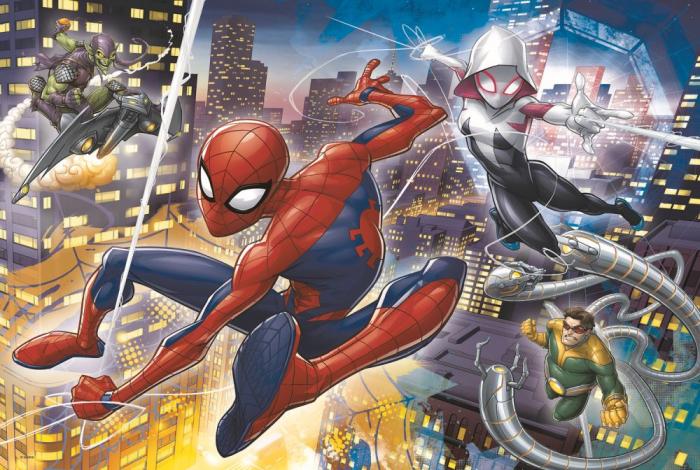 Puzzle Trefl 24 Maxi curajosul Spiderman [1]