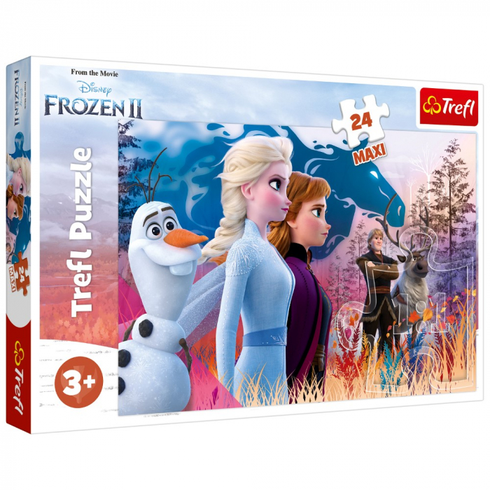 Puzzle Trefl 24 Maxi Frozen 2 Calatoria magica [0]
