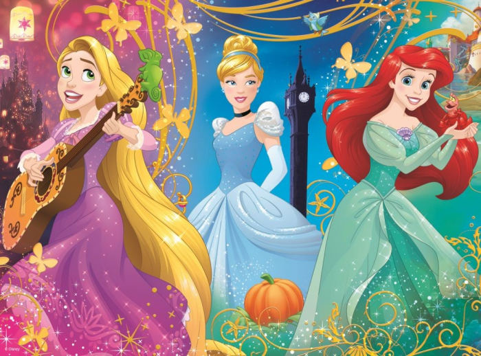 Puzzle Trefl 30 printese Disney [1]