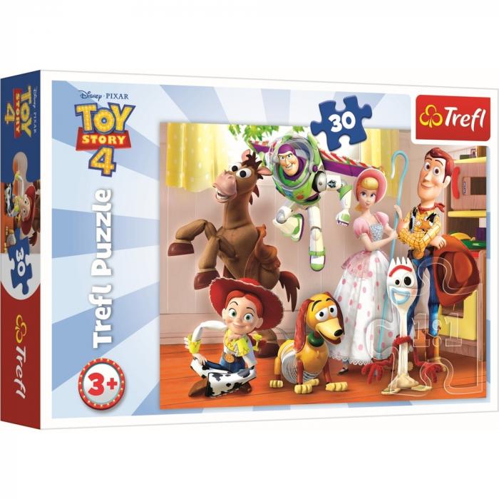 Puzzle Trefl 30 ToyStory 4 Pregatiti de joaca [0]