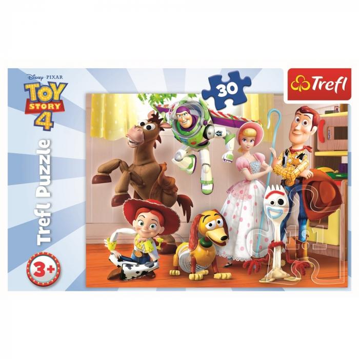 Puzzle Trefl 30 ToyStory 4 Pregatiti de joaca [2]