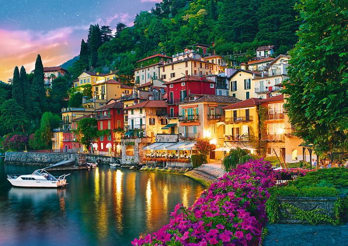 Puzzle Trefl 500 Lacul Como Italia [1]