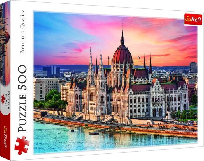 Puzzle Trefl 500 orasul Budapesta [0]