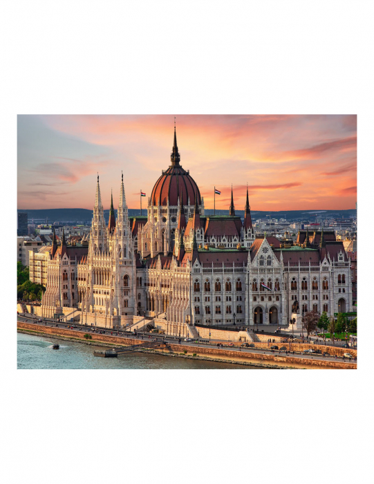 Puzzle Trefl 500 orasul Budapesta [1]
