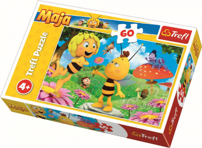 PUZZLE TREFL 60 FLORILE ALBINUTEI MAYA [0]