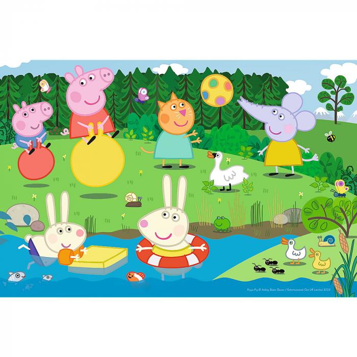 Puzzle Trefl 60 Peppa Pig Distractie in vacanta [1]