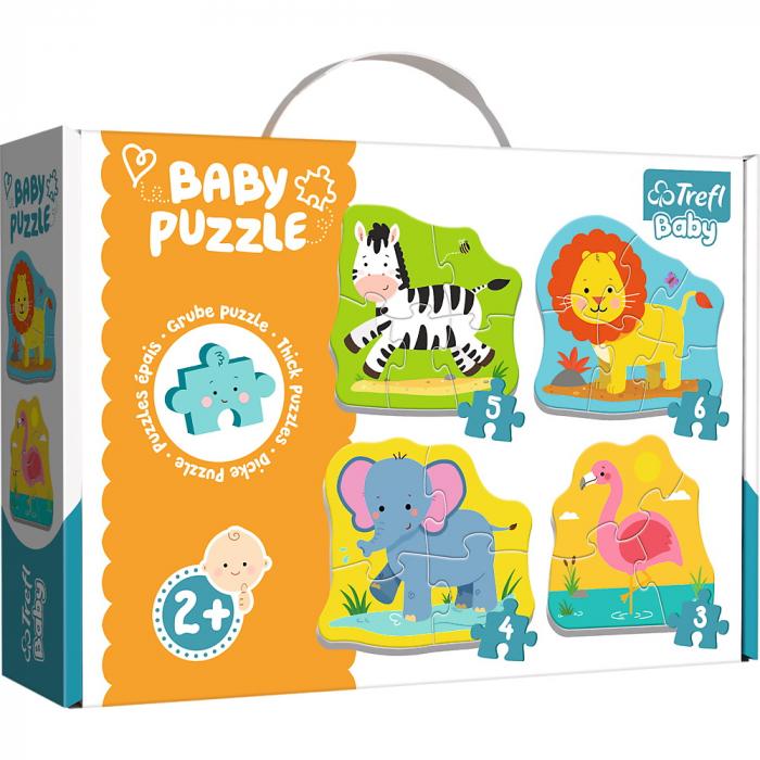 PUZZLE TREFL BABY CLASIC ANIMALE SAFARI [0]