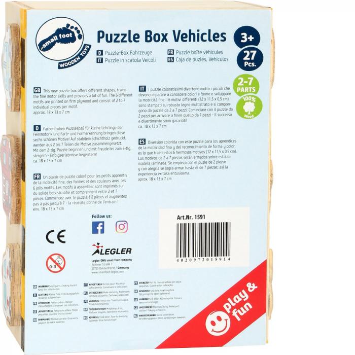 Puzzle vehicule - Legler 3