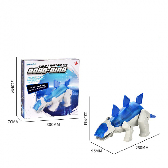 Robot Electromecanic de asamblat Dinozaur [2]