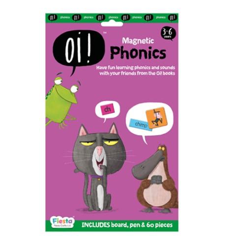 Joc educativ magnetic Fonetica / Oi ! Phonics [0]