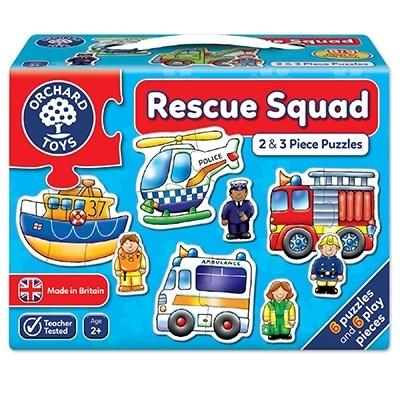 Set 6 puzzle Echipa de salvare (2 si 3 piese) RESCUE SQUAD [2]