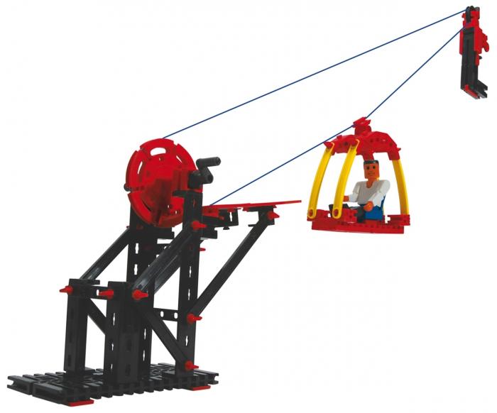 Set constructie ADVANCED Cable Railway - 3 modele [3]