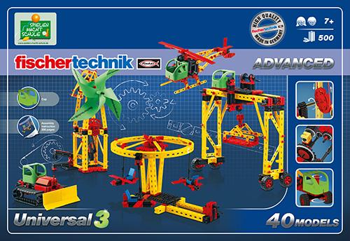 Set constructie ADVANCED Universal 3 - 40 modele 1