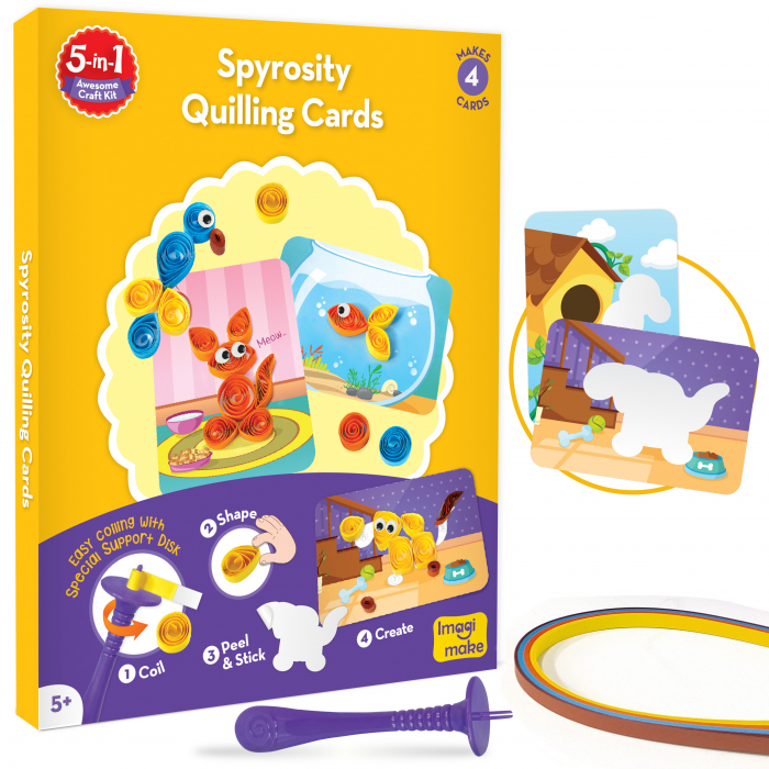 Set Creativ pentru copii 5 in 1 [7]