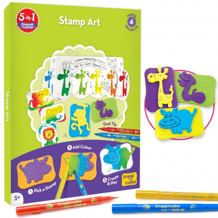 Set Creativ pentru copii 5 in 1 [5]
