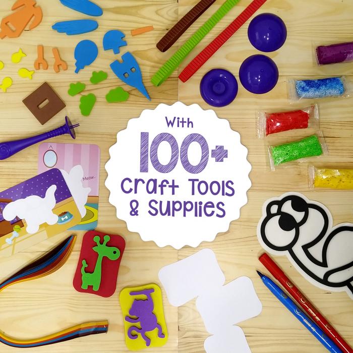 Set Creativ pentru copii 5 in 1 [8]
