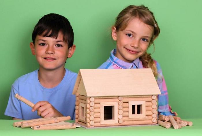 Set de construit Vario caseta 72 piese – joc educativ Walachia 1