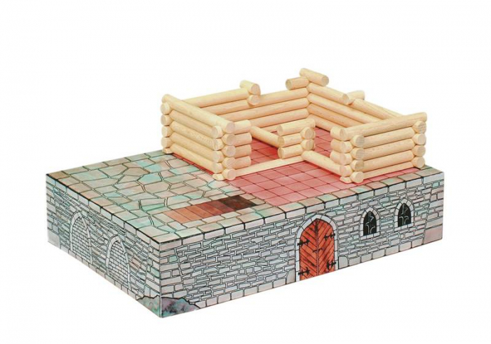 Set de construit Vario Fort – joc educativ Walachia 7