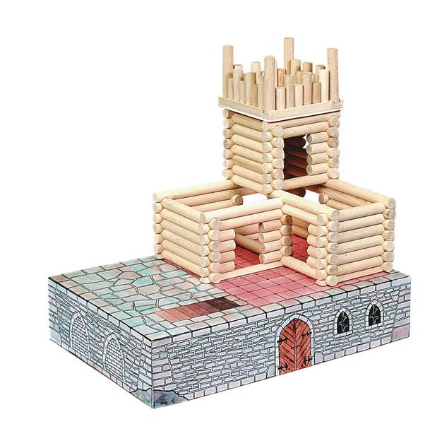 Set de construit Vario Fort – joc educativ Walachia 2