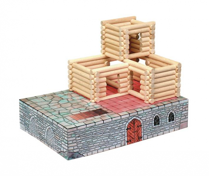 Set de construit Vario Fort – joc educativ Walachia 3
