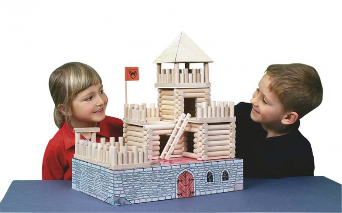 Set de construit Vario Fort – joc educativ Walachia 9