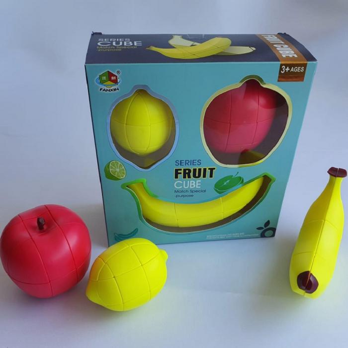 Cadou 5-7 ANI - Invatare Limba Engleza + Set Cuburi Rubik Fructe 4