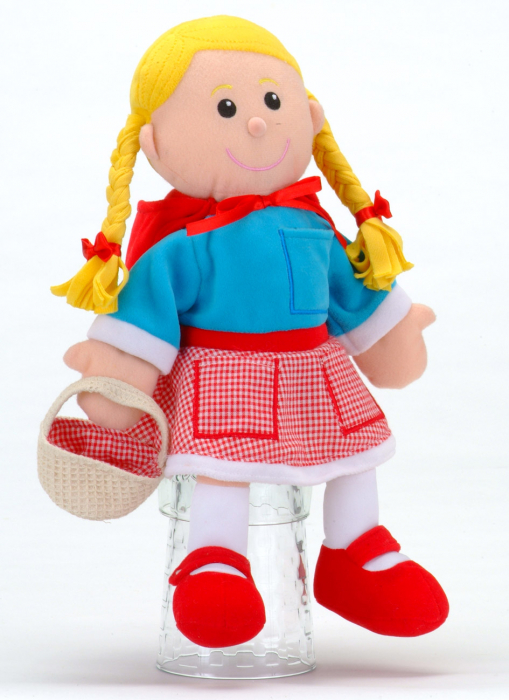 Set Papusa si marionete Scufita Rosie / Red Riding Hood - Fiesta Crafts 1