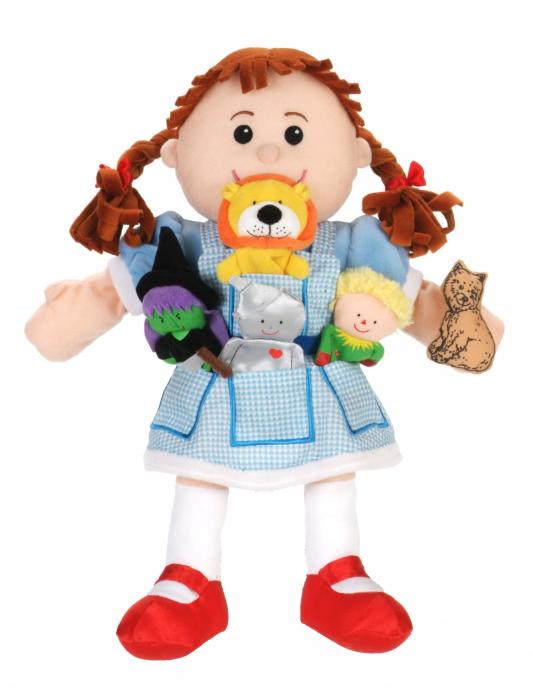 Set papusa si marionete Vrajitorul din Oz / Wizzard of Oz - Fiesta Crafts 2