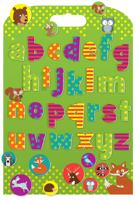 Stickere cu animale / Woodland Animals Alphabet 0