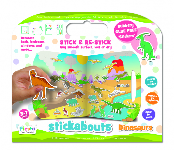 Stickere Dinozauri / Dinosaurs - Fiesta Crafts 4