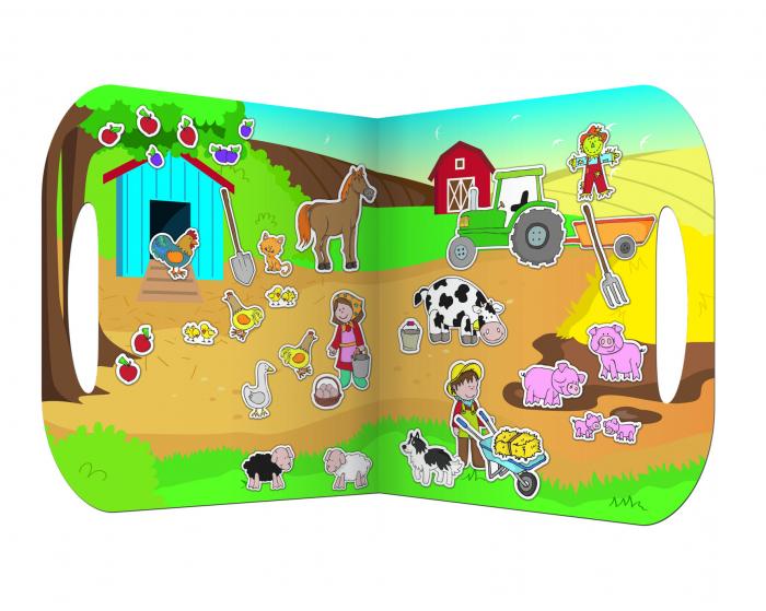 Stickere Ferma / Farm - Fiesta Crafts 1