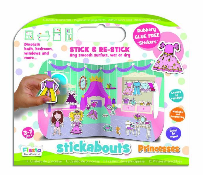 Stickere Printese / Princess - Fiesta Crafts 3